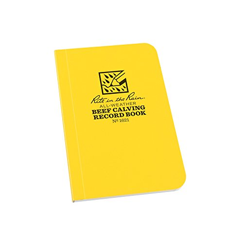 Rite in the Rain Weatherproof Beef Calving Record Notebook, 3