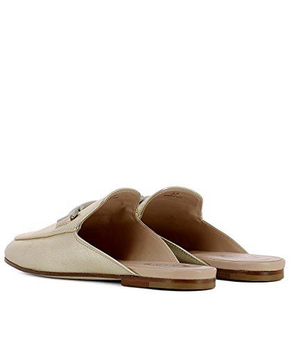 XXW79A0X970NPPG210 Women's Sandals Gold Tod's Leather ZBqwHqU