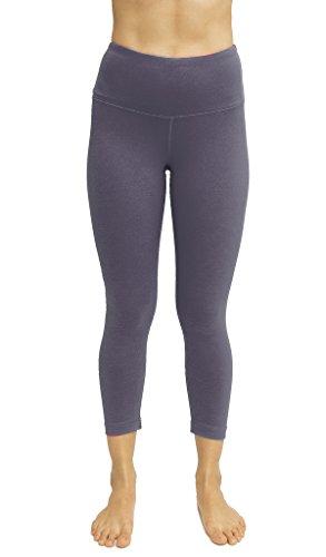 08a9e81b41 90 Degree By Reflex - High Waist Tummy Control Shapewear - Power Flex Capri  - Lavender