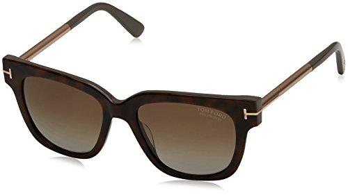 Tom Ford Sunglasses TF 436 Tracy Sunglasses 56H Havana - Tracy Ford