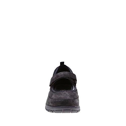 para regenerada cordones de Zapatos mujer Strive negro Negro de piel negro Idaho 4Hq0wAg