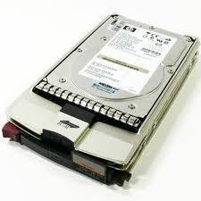 - HP/Compaq BF300DA482 300GB 15000 RPM 40-pin Fiber Channel 3.5 Inch Hard Drive with Tray, New Item