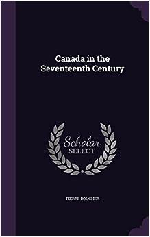Book Canada in the Seventeenth Century