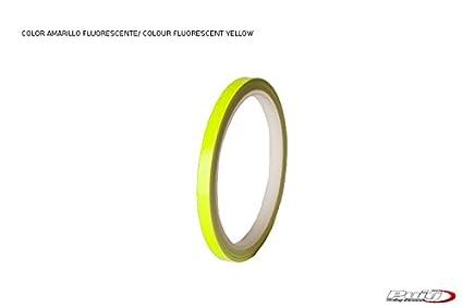 PUIG - 2568X : Strip tirillas Cintas Aros Adhesivos Llantas Moto Fluorescente 6 Metros
