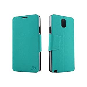 YULIN PU Leather Case with Stand for Samsung Note3 N9008V/N9006/N9009 , Dark Blue