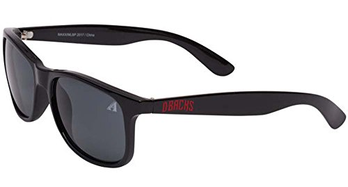 Maxx Sunglasses MLB Arizona Diamondbacks Bleacher Black HD Grey Lens