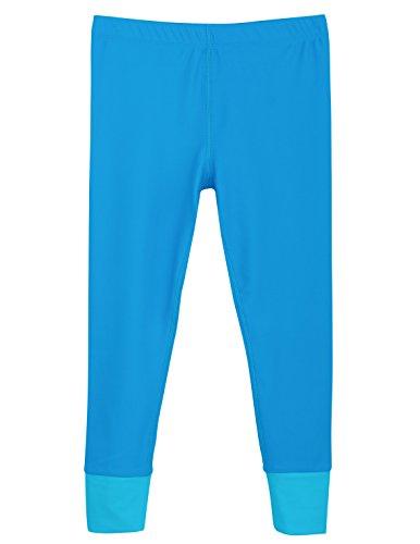Tuga Girls Swim Legging (UPF 50+), Turquoise, 2/3 yrs