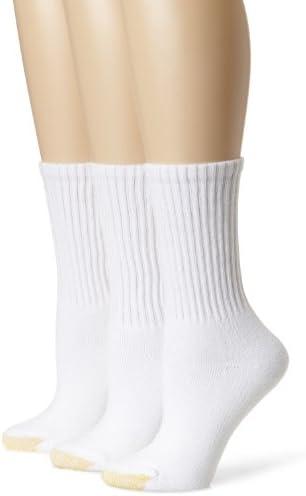 Gold Toe Women's Ultratec Crew Socks, 3 Pairs