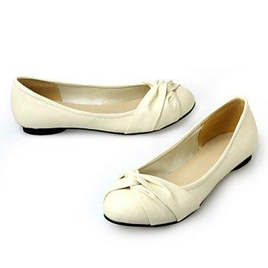 Cómodo y elegante soporte de zapatos de las mujeres pisos primavera verano otoño invierno otros cuero sintético oficina y carrera parte y vestido de noche soporte de talón negro azul amarillo rosa bei azul