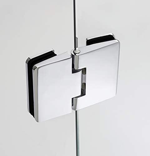 Mamparas de Ducha con Bisagras - GME modelo GLASS COMBI C - Fijo + ...