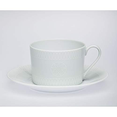 - Royal Limoges White Star Tea Cup