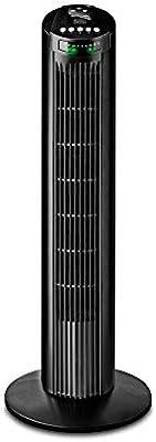 Black+Decker BXEFT45E Ventilador de torre, 45 W, Plástico, Negro ...