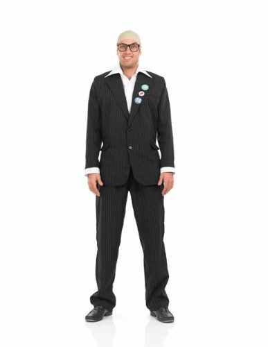 Price comparison product image Harry Hill TV Burp Male Fancy Dress Costume by Fun Shack Size Extra Large (Chest 46-48in)