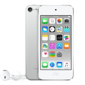 Apple iPod Touch 32GB (6th Gen) - Silver (MKHX2ZP/A) MP3/MP4 Players at amazon