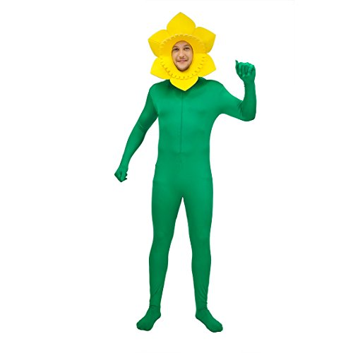 flatwhite Men's Funny Sunflower Costumes ()