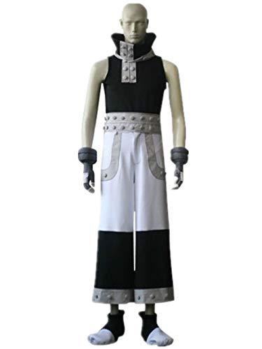 Soul Eater Halloween Costumes (LVCOS Soul Eater Black Star Cosplay Costume Halloween)