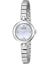 Analog Display Swiss Quartz Silver Women's Watch(Model:YA141503)
