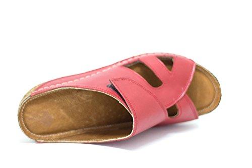 Verano Rosa Sandalias Ks Para Zapatos Ideales Mujer 400 Cuero 6wwvY8