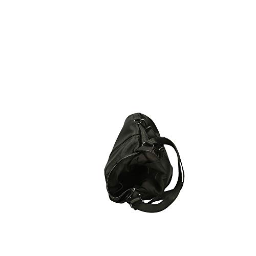 En Cm 32x28x12 Italy Negro In De Chicca Genuina Piel Made Borse Hombro Bolsa UqAxnCRI