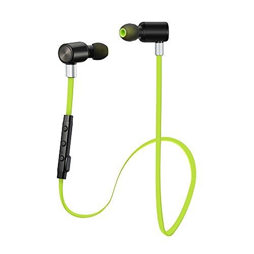 [Kopfhörer] VicTsing Wireless Bluetooth 4.1 Kopfhörer Sport Stereo In-Ear Noise Cancelling Headphones Kopfhörer mit APT-X/Mic für iPhone 7, 6, 6s Samsung Galaxy S6 S5 Anmerkung 4 3 usw.
