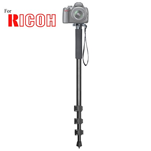 Versatile 72'' Monopod Camera Stick With Quick Release for Ricoh GR Digital II, GR Digital III, GR Digital IV, GR II, GXR A12 50mm F2.5 Macro, GXR A16 24-85mm Digital Cameras: Collapsible Mono pod by IDU-PRO