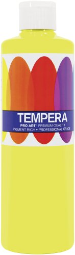 Pro Art 16-Ounce Liquid Tempera, Fluorescent (Fluorescent Tempera 16 Oz Paint)