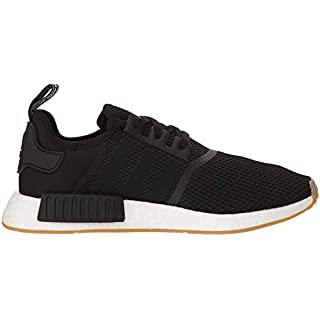 adidas Originals mens Nmd_r1 Sneaker, Black/Black/Gum, 11.5 US