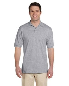 hield Short Sleeve Polo Sport Shirt, Oxford, 2X-Large (Roll Neck T-shirt)