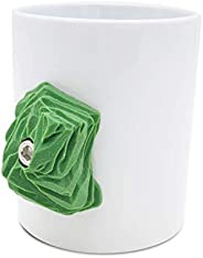 Climbing MUG (Green)   Rock climber gift with real Climbing Holds   Strengthens your fingers