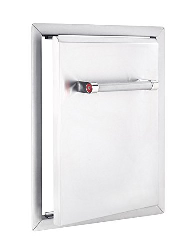 KitchenAid 780-0019 Built-in Grill Cabinet Single Access Door, 18'', Stainless