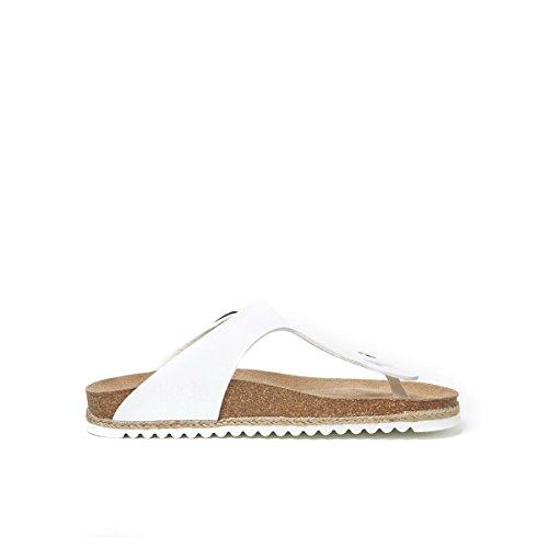 Pour Blanc Md2070 Femme Mandèl Bianco Sandales qxBIE0w6a