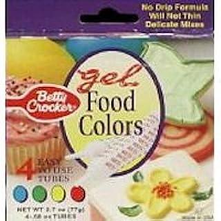 Betty Crocker Classic Gel Food Colors - 4 CT (B004PXNV2M) | Amazon ...