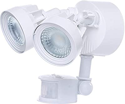 Nuvo Lighting 65/107 LED Security Dual Head