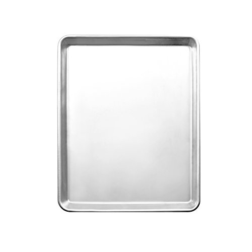 Excellante 18''X13'' Half Size Sheet Pan, 18/8 Stainless Steel, 20 Gauge, , Not Applicable by Excellanté