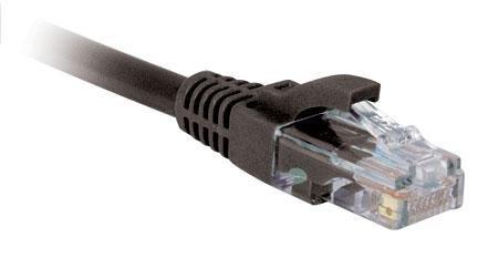3 Black Cat5e Ethernet Patch Cable