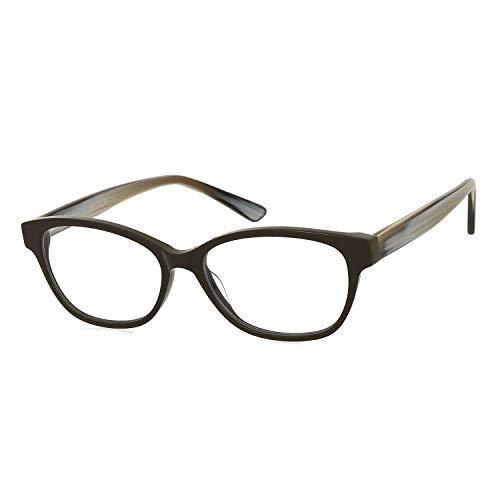 Magic Jing Blue Light Blocking Computer Game Eyeglasses Anti Glare UV Protection Cat Eye Women Glasses (F)