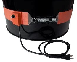 Silicone Rubber 4 Band 55 Gallon Steel Drum Heaters,240v