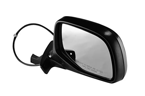 Passenger Side Chrome Cover Side View Mirror for 1992-1996 Ford F-150 F-250 & Bronco, 1992-1997 Ford F-350, F Super Duty, F59, F53, 1997 Ford F-250 -
