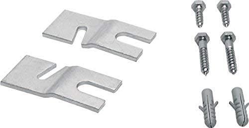 Siemens WX9756 kit de montaje - Kit de sujección (5 - 35 °C, 10 - 85%, 60 x 100 x 50 mm, 380 g, 100 mm, 50 mm)