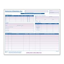 Adams Business Forms Products - Employee Personal File, 11-3/4amp;quot;x9-1/2amp;quot;, 20/PK - Sold as 1 PK - Employee Personnel File Folder is complete with space for employee address and emergency information, education, employment record, and company