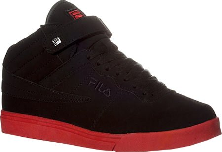 Fila Mens Vulc 13 Sneaker Noir, Noir, Fila Rouge