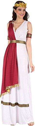 Ladies Fancy Dress Ancient Roman Historical Greek Goddess Toga Costume Outfit