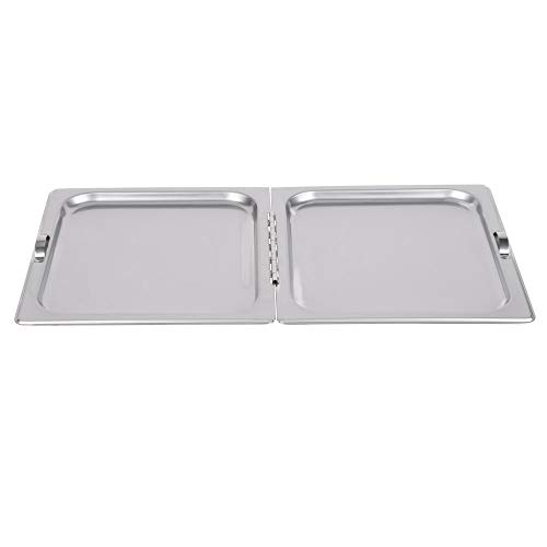 TableTop King DuraPan Full Size Flat Hinged Steam Table/Hotel Pan Cover