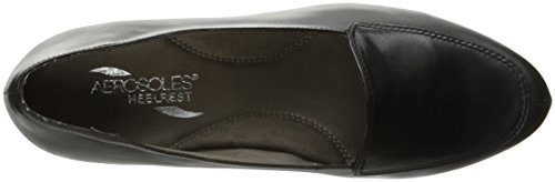 Slip Black Women's On Loafer Aerosoles Leather Lovely UqT7wqxS