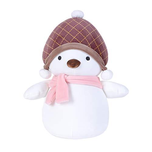 MINISO Christmas Penguin Plush Pillow Plushies Stuffed Animal Doll Gift for Boy Girl
