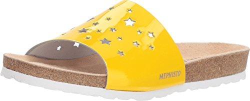 Mephisto Women's Nora Star Yellow Patent 39 B EU B (M)