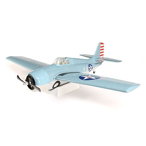 Airplanes Parkzone Rc - ParkZone PKZ1950 F4F Wildcat 1.0m BNF Basic w/AS3X and SS, Blue