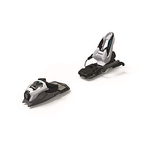Marker Jr Free 8 Ski Bindings 2019 Black/White 100mm