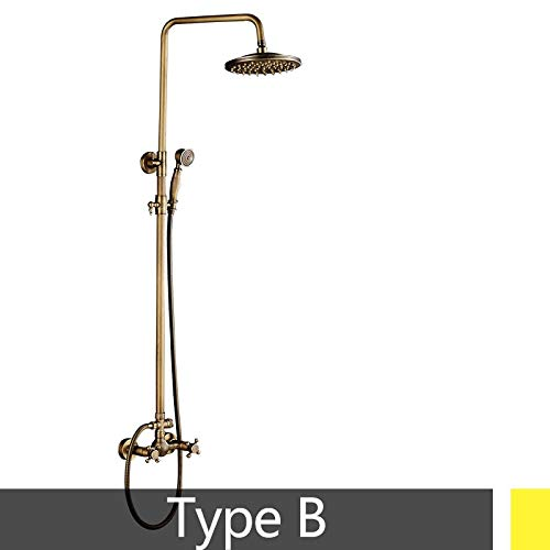 Antique Brass Popular Shower Set Bathroom Faucet 8