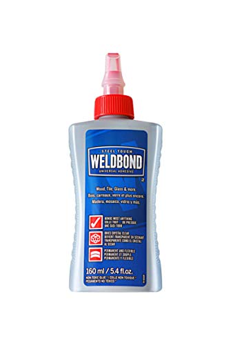 Adhesive Waterproof Purpose Wood - Weldbond 8-50160 Multi-Purpose Adhesive Glue, 1-Pack